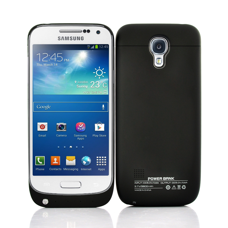 Wholesale 2600mAh Battery Case for Samsung Galaxy S4 Mini