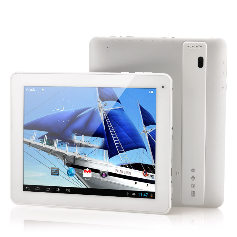 Wholesale Freelander PD800 - 9.7 Inch Quad Core Android Tablet (1.6GHz CPU, 3rd Gen IPS HD Retina Screen, 2048x1536, 2GB RAM, 16GB, HDMI)