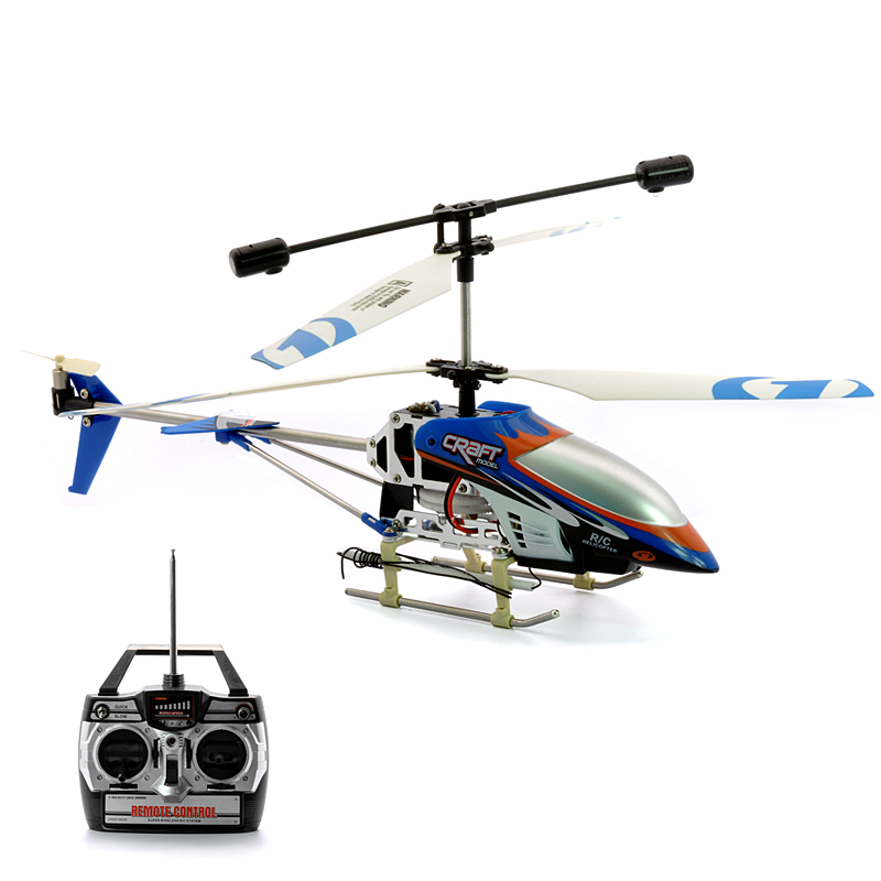 Wholesale Air Strike - 3 Channels RC Helicopter with LEDs Lights and Gyro