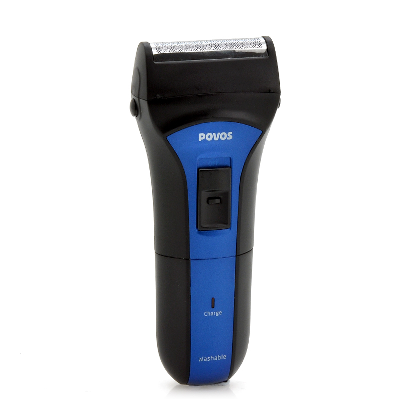 Wholesale Povos PS2208 - Rechargeable Electric Shaver for Men (Dual Blade,