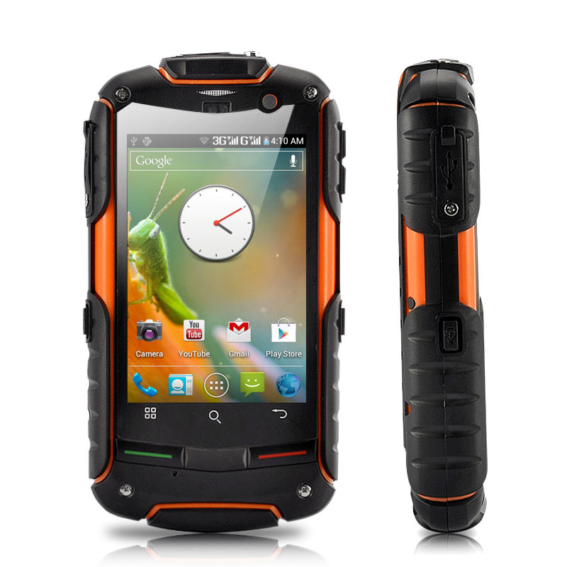 Wholesale Fortis Evo - Rugged GPS Android 4.0 Phone with 3.2 Inch IPS Touchscreen (Waterproof, Dustproof, Shockproof)