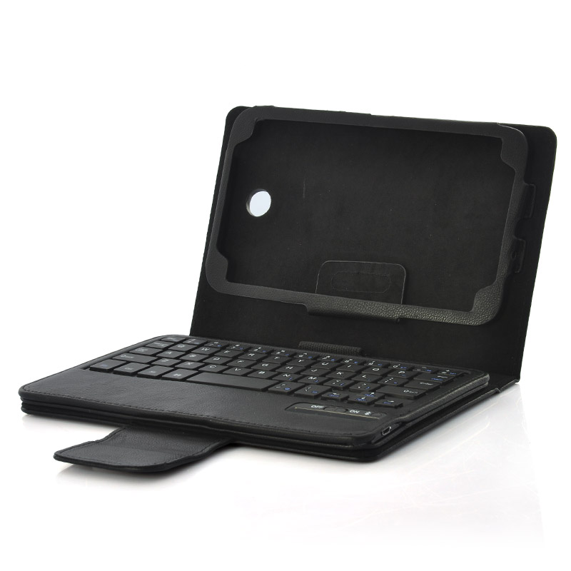 Wholesale Wireless Bluetooth 3.0 Keyboard Case with Kickstand - For 7