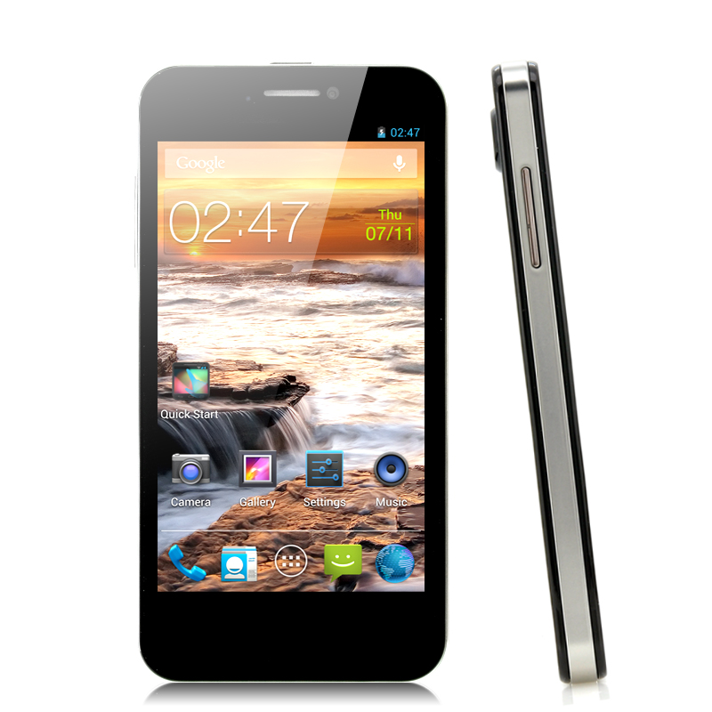 Wholesale MySaga M1 - 4.5 Inch Android 4.2 Phone (1.2GHz Quad Core CPU, 720p HD, 8MP Rear Camera, Black)