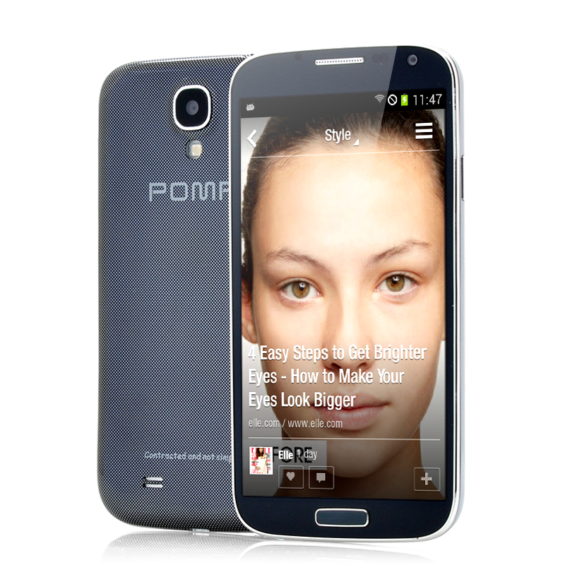 Wholesale POMP W88A - 5 Inch Quad Core Android 4.2 Phone (1.2GHz CPU, 1GB RAM, GPS, 5MP Camera, Black)