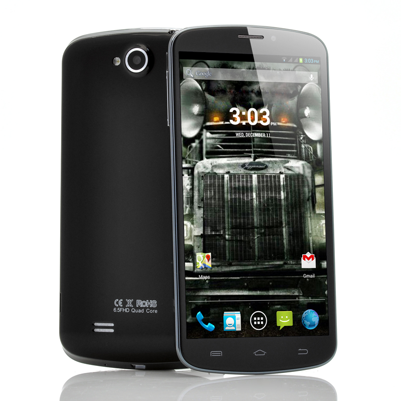 Wholesale Juggernaut - 6.5 Inch Android Mobile Phone (3G, 1920x1080 FHD, 1.5GHz Quad Core CPU, 1GB RAM, 3900mAh)