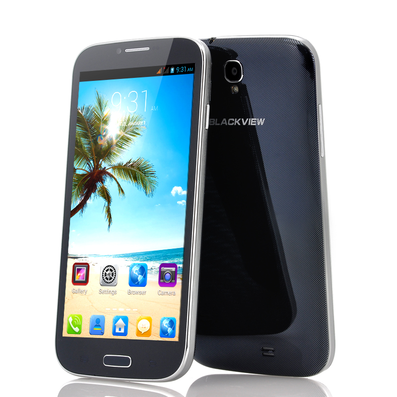 Wholesale Blackview JK809 - 6 Inch Android 4.2 Phone (1.5GHz Quad Core CPU, 1GB RAM, 8MP Camera, 8GB, Black)