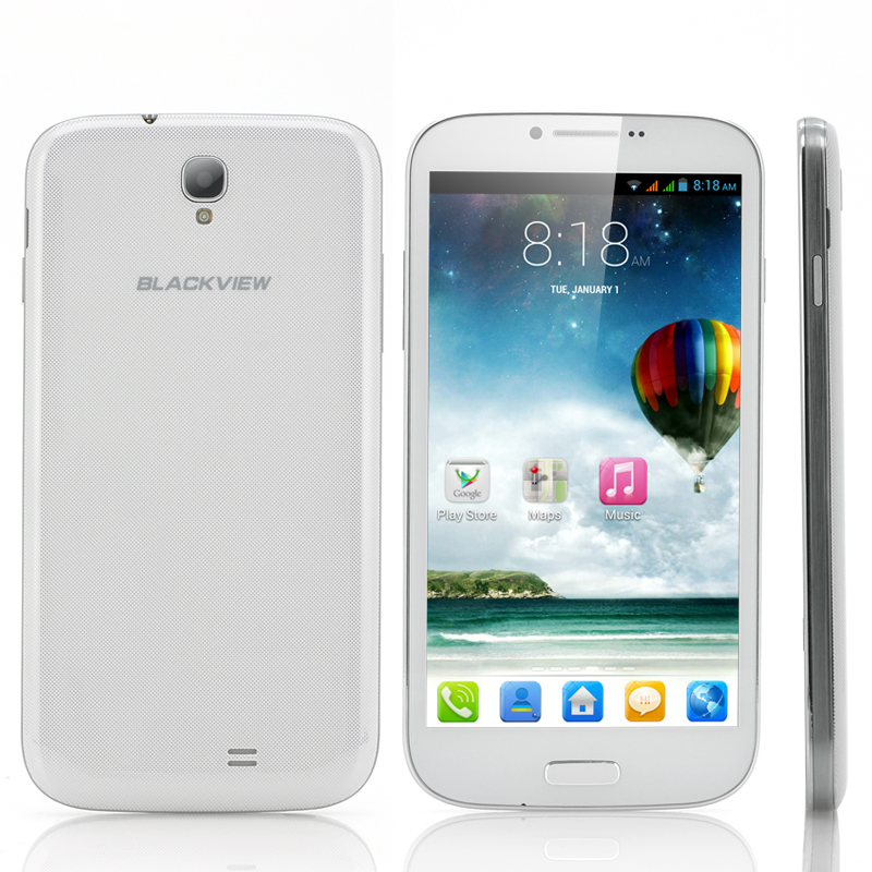 Wholesale Blackview JK809 - 6 Inch Android 4.2 Phone (1.5GHz Quad Core CPU, 1GB RAM, 8MP Camera, 8GB, White)