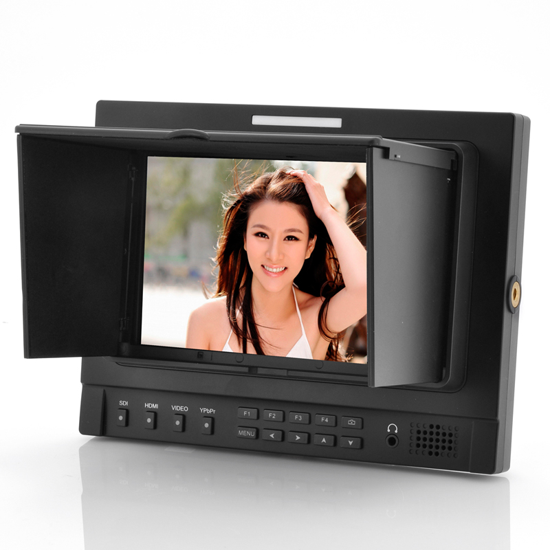 Wholesale On-Camera Broadcast Monitor with 7 Inch IPS Screen (4x Zoom, 800:1, YPbPr/HDMI/AV Port)