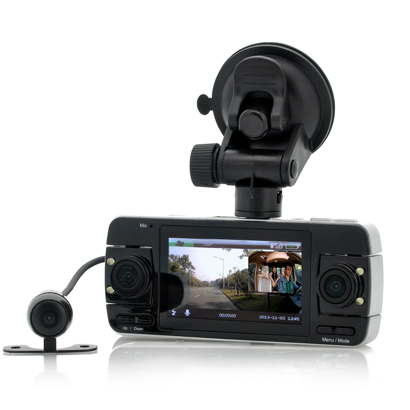 Wholesale Twinview - Dual Car Dash Cam with Parking Camera and 2.7 Inch Screen (720p, G Sensor, HDMI)