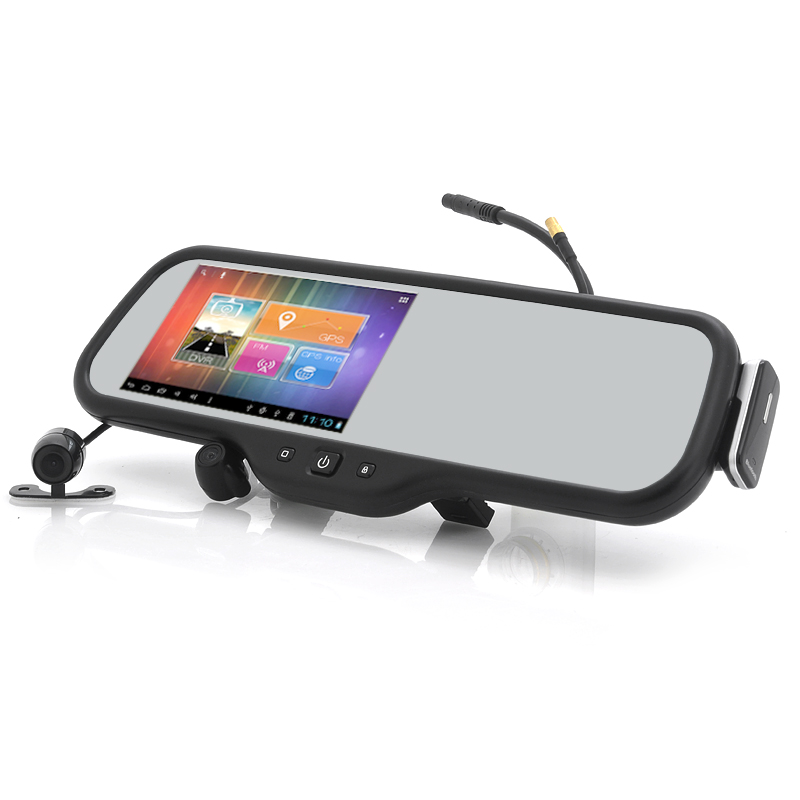 Wholesale Maxiss - 5 Inch Touchscreen Android Rear View Mirror with Parkin