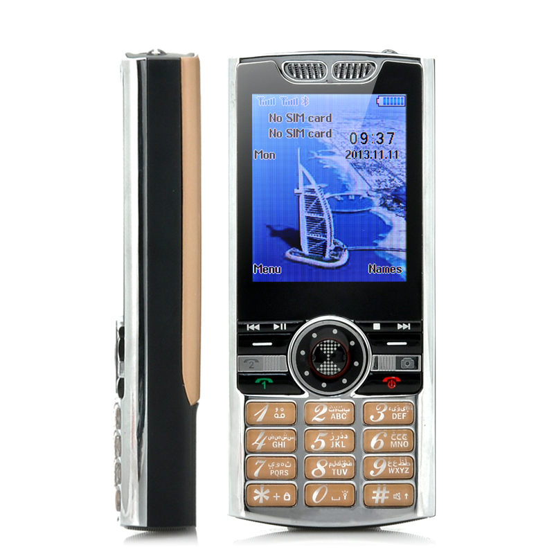 Wholesale 2.2 Inch Dual SIM Bar Phone with MP3/MP4 Player and Torch