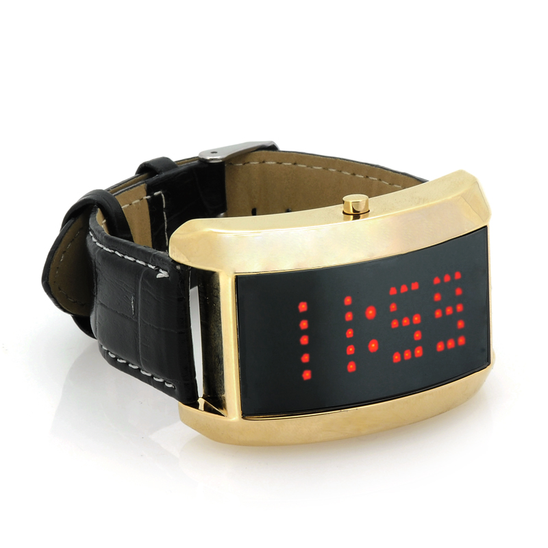 Wholesale SWAG - LED Wrist Watch with Scrolling Message Display (93 LEDs,