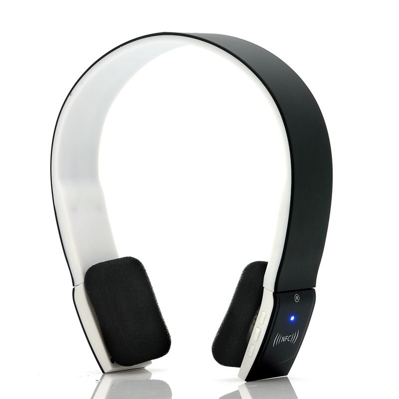 Wholesale Curve - NFC Wireless Headphones (Bluetooth + EDR, 2.4GHz, 380mAh Battery)
