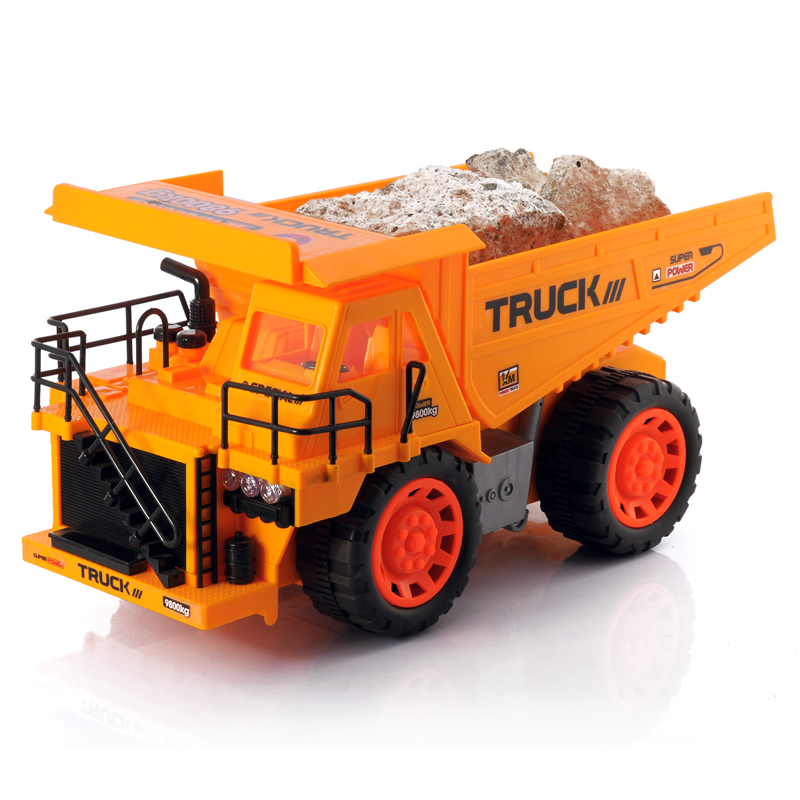 Wholesale Tipper - Rechargeable 1:10 Scale RC Dump Truck