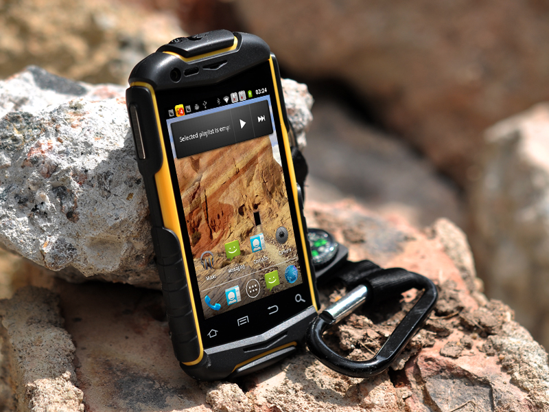 Nyx N1 3 5 Inch Rugged Android Phone Water Resistant