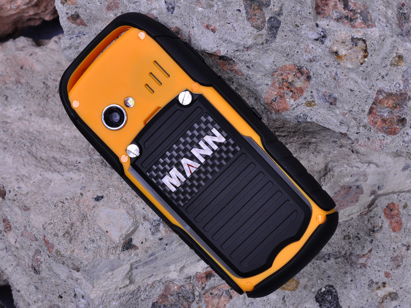 Mann Zug 1 Rugged Quad Band Gsm Phone Orange Dual Sim