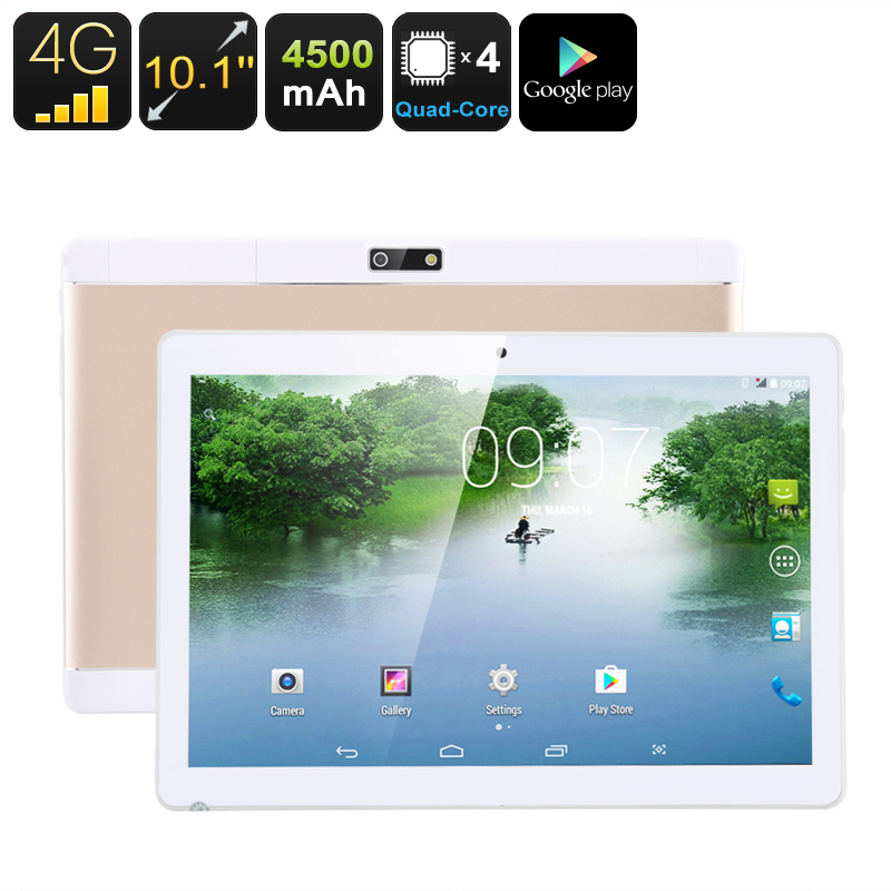 Wholesale 10.1-inch tablet PC -MT6735P quad-core A53CPU, 2GB memory, 16GB storage, 4GB support, dual SIM card, Micro SD card, FHD display