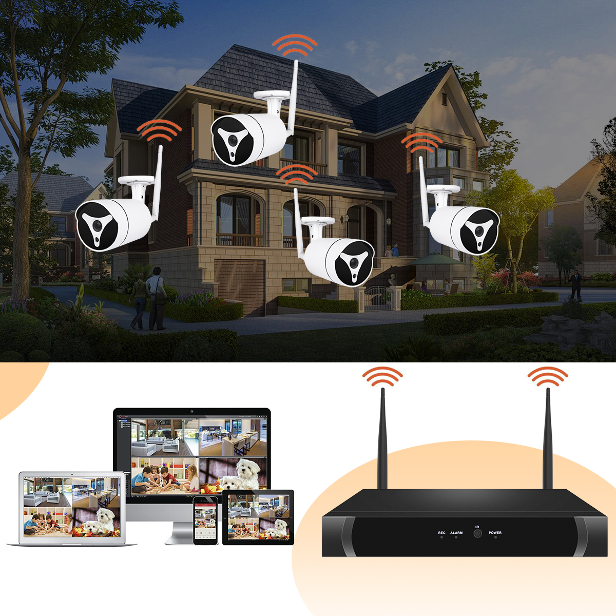 images/wholesale-electronics-2019/4-Channel-NVR-Security-Kit-6869-4-Wi-Fi-1080P-IP-Cameras-HD-Resolutions-30meters-Night-Vision-Remote-Monitoring-App-plusbuyer_4.jpg