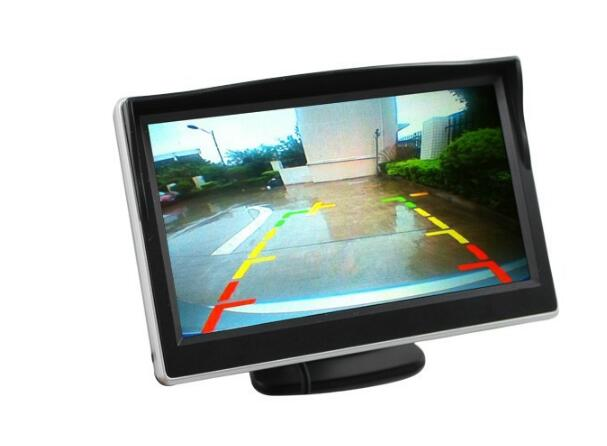 Wholesale 5Inch Rearview Mirror Monitor - Button Control, 4: 3 Ratio, 480x272