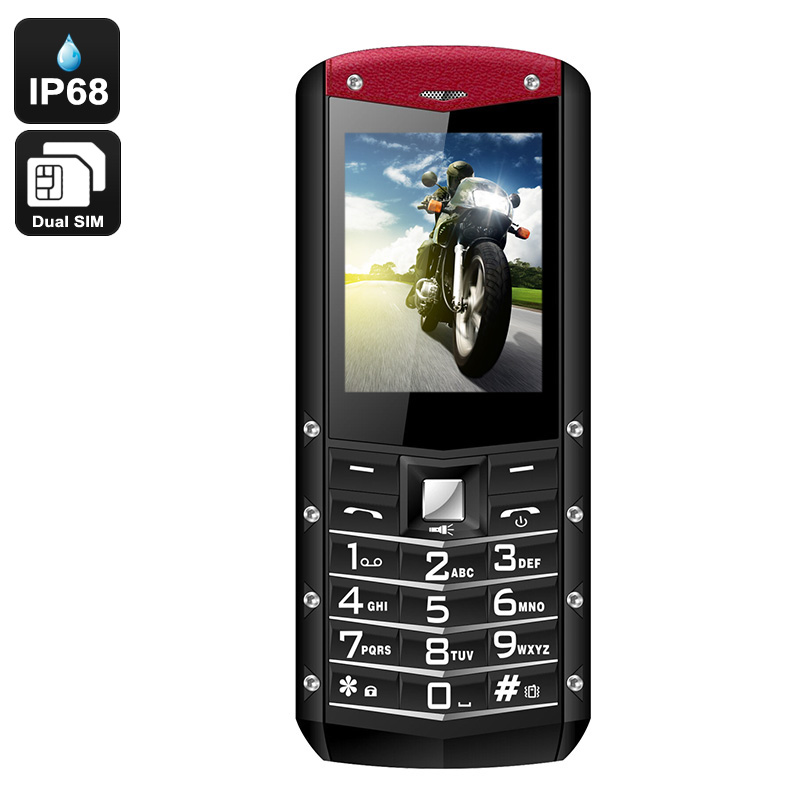 Agm M2 Rugged Phone Ip68 Rating Long Life 1970mah