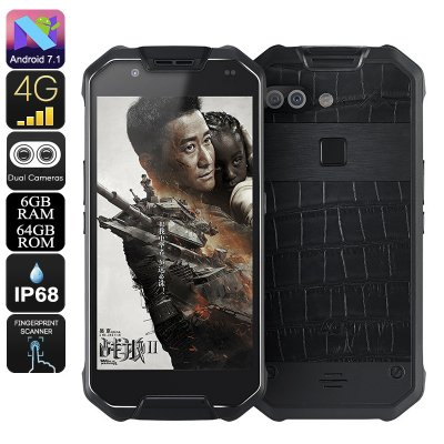 Wholesale AGM X2 SE-Leather Rugged Phone- Android 7.1, Octa-Core CPU, 6GB RAM, IP68, 1080p Display, 12MP Dual-Camera, Dual-IMEI, 4G