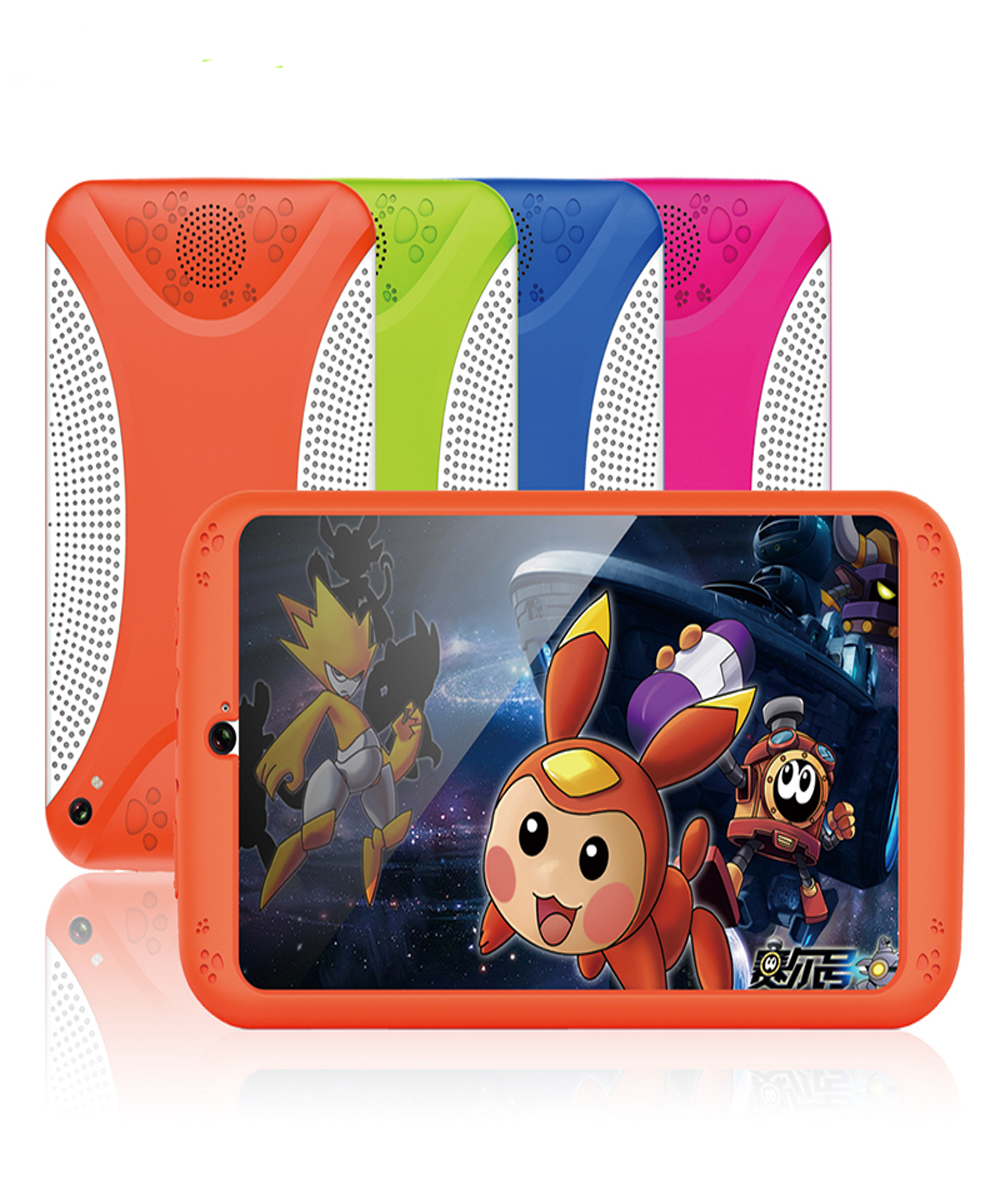 Wholesale Android Tablet Computer Orange- For Kids, 7 Inch Display, HD Visuals, 3000mAh Battery, Sophisticated Hardware, WiFi (Orange)