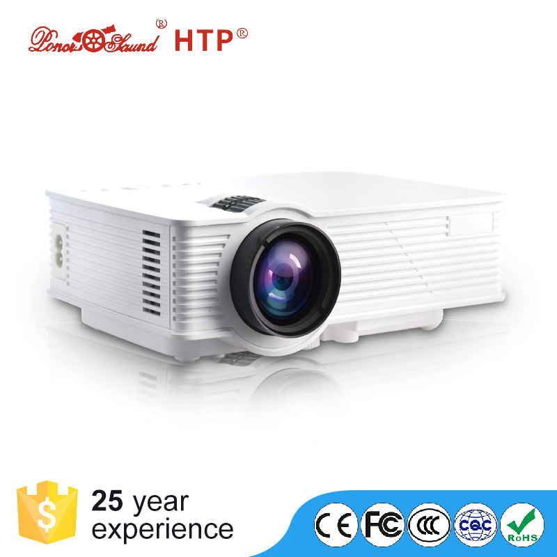 Wholesale Artillery LED Projector - FHD Support, 800 Lumen LED, 800x480P Native Resolution, Built-In Speaker, HDMI, VGA, AV, USB
