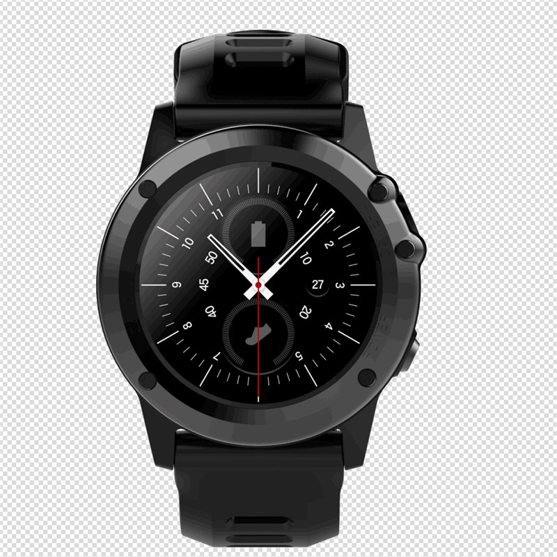 Wholesale C1 IP68 Android Smart Watch - 3G, 1.39 Inch Touch Screen, Altitude, air pressure, Pedometer, Heartrate Sensor, Android 5MP Camer