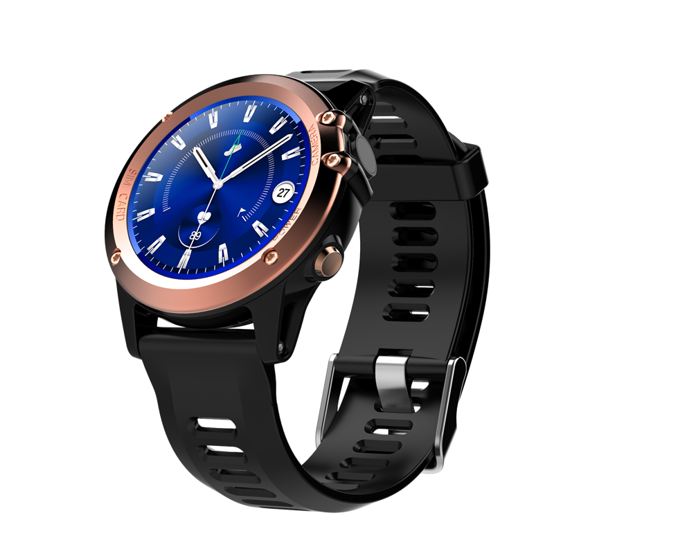 Wholesale C1 IP68 Android Smart Watch - 3G, 1.39 Inch Touch Screen, Altitude, air pressure, Pedometer, Heartrate