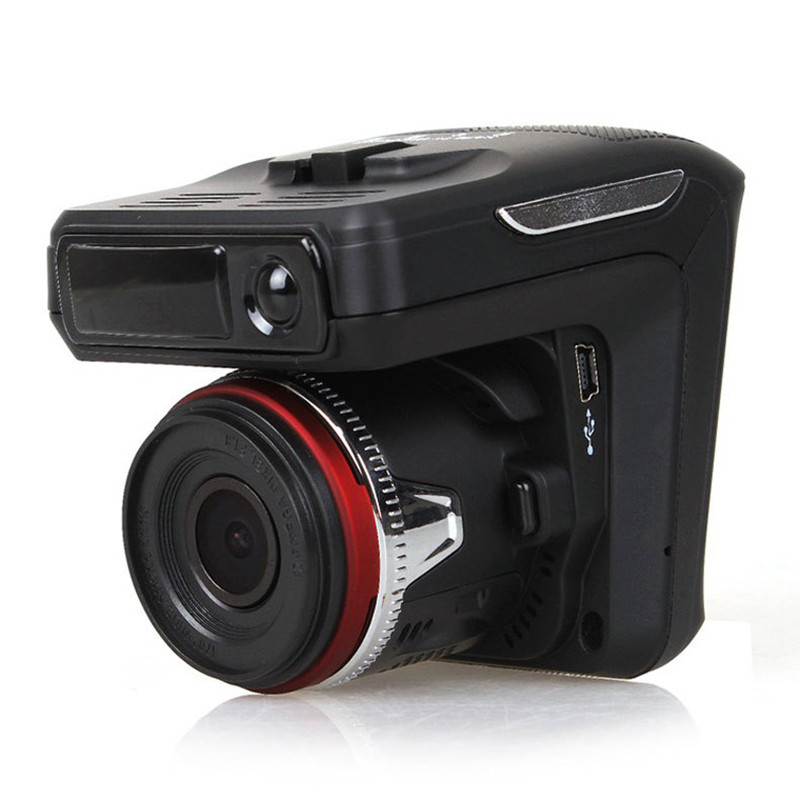 Wholesale Car DVR Camera 2.4 inch Screen Anti-Radar Detector 720P