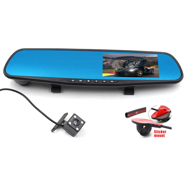 Wholesale Car Rear View Camera Kit - DVR Monitor, 3 Cameras, Side View, Ni