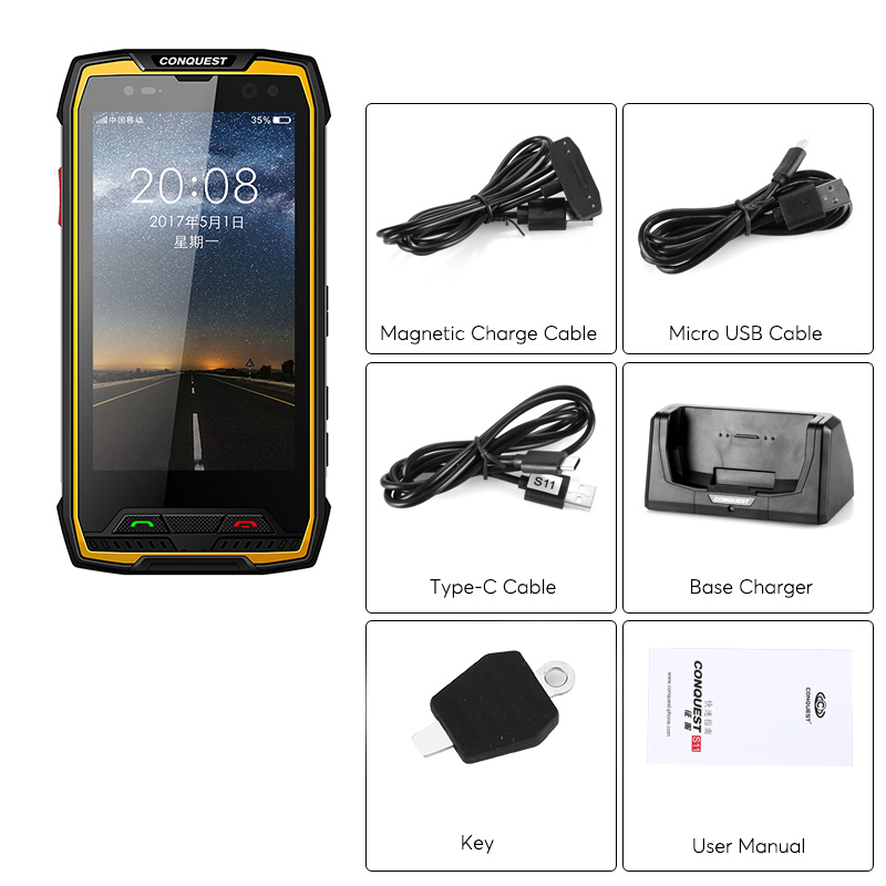 images/wholesale-electronics-2019/Conquest-S11-Rugged-Smart-Phone-Android-70-IP68-Octa-Core-64GB-ROM-GPS-Fingerprint-plusbuyer_5.jpg