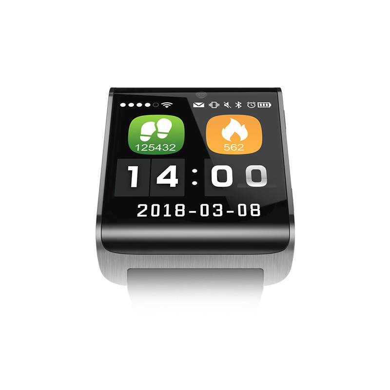 Wholesale DM2018 Android Smart Watch - 4G, 1.54 InchTouch Screen, Pedometer, Heartrate Sensor, Android 6.0, 2MP Camera (Silver)