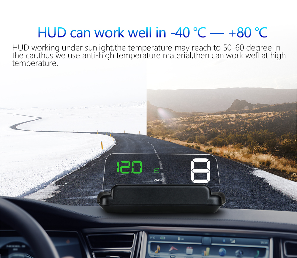 Wholesale EANOP Miroir HUD Head Up display Auto HUD OBD2