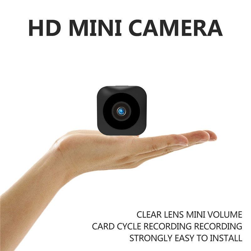 Wholesale HD Mini WiFi Camera - 720P, Infrared Night Vision, APP, Motion Detect, Support Micro SD, Magnetic Mounting