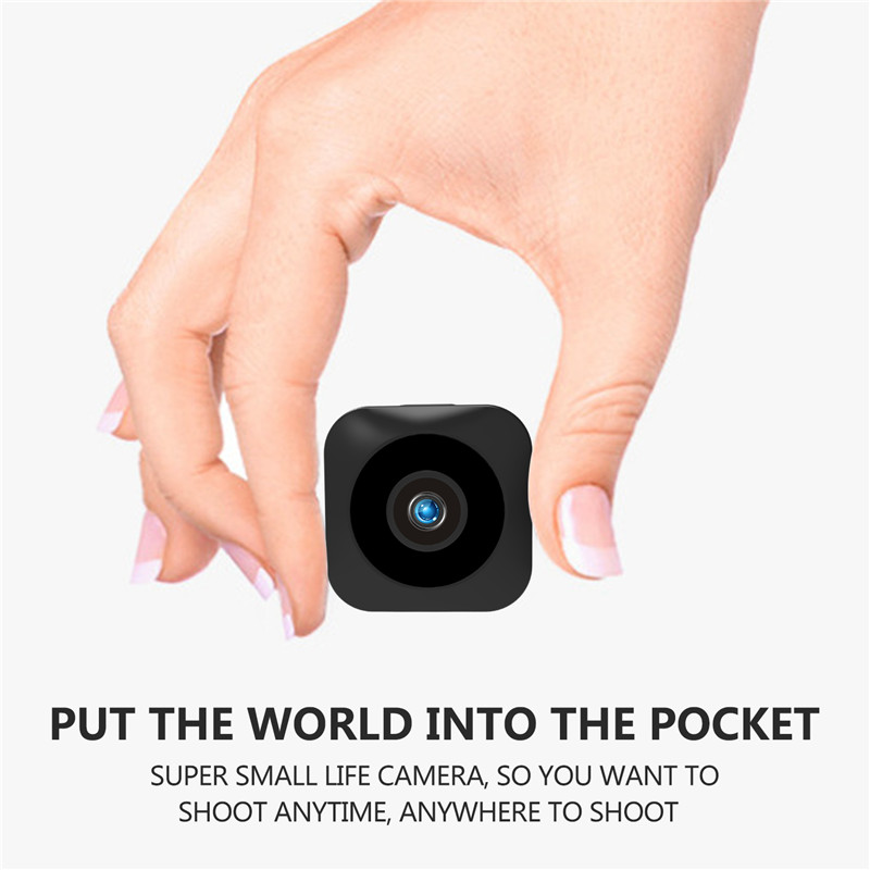 HD Mini WiFi Camera - 720P, Infrared Night Vision, APP