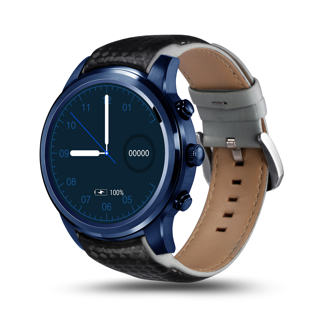 Wholesale LEMFO LEM5 PRO Watch Phone-1 IMEI, 3G, WiFi, Music, Pedometer, Heart Rate, Android OS