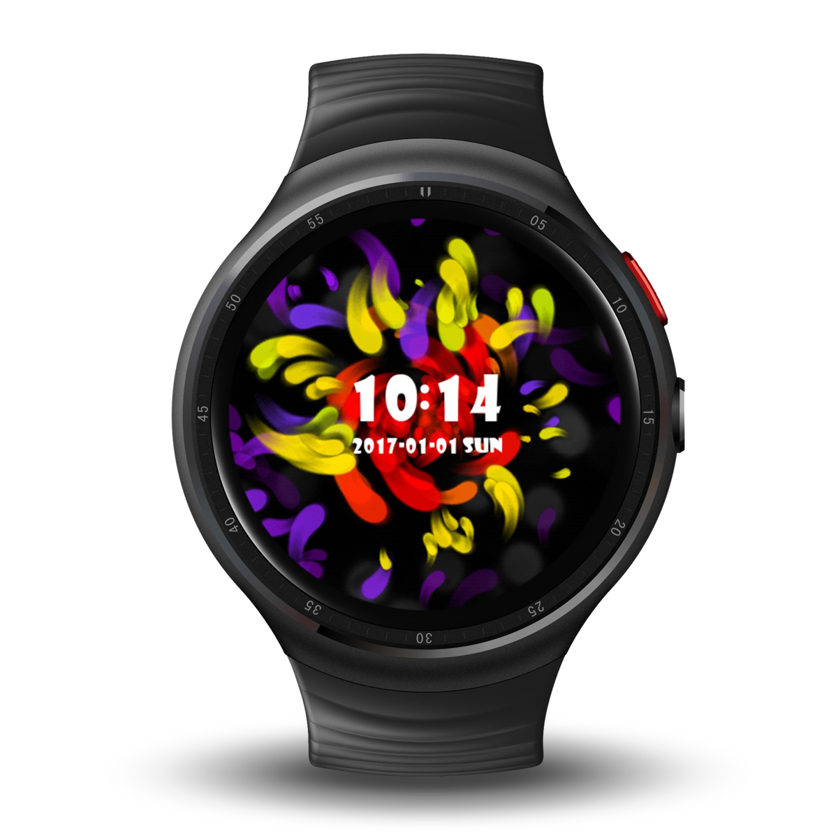 Wholesale LEMFO LES 1 Watch Phone-1 IMEI, 3G, 2MP Camera, WiFi, Music, Pedometer, Heart Rate, Android OS