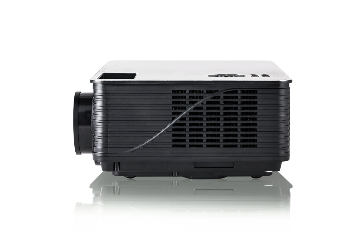 M5 3000 Lumens LED Projector - 5.8 Inch LCD Panel, 2000: 1 Contrast Ratio, 1920x1080 DPI Resolution