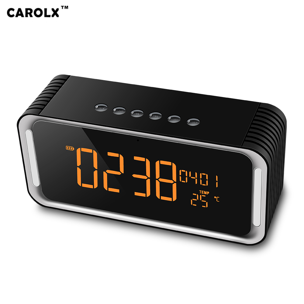Wholesale Multi-function Digital Display Bluetooth speaker - Bluetooth 4.2, 2000mAh Battery, Night Light, Alarm Clock, Temperature