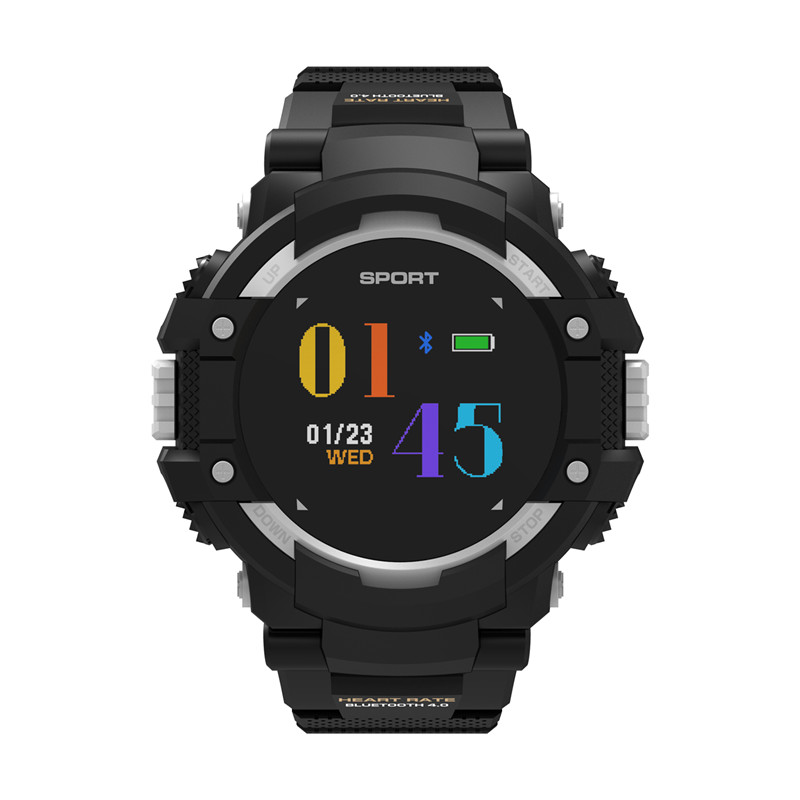 Wholesale No.1 F7 Smartwatch - GPS, Bluetooth 4.2, Heart Rate, Pedometer, Sleep Monitor, Call Alert, IP67 Waterproof (Gray)