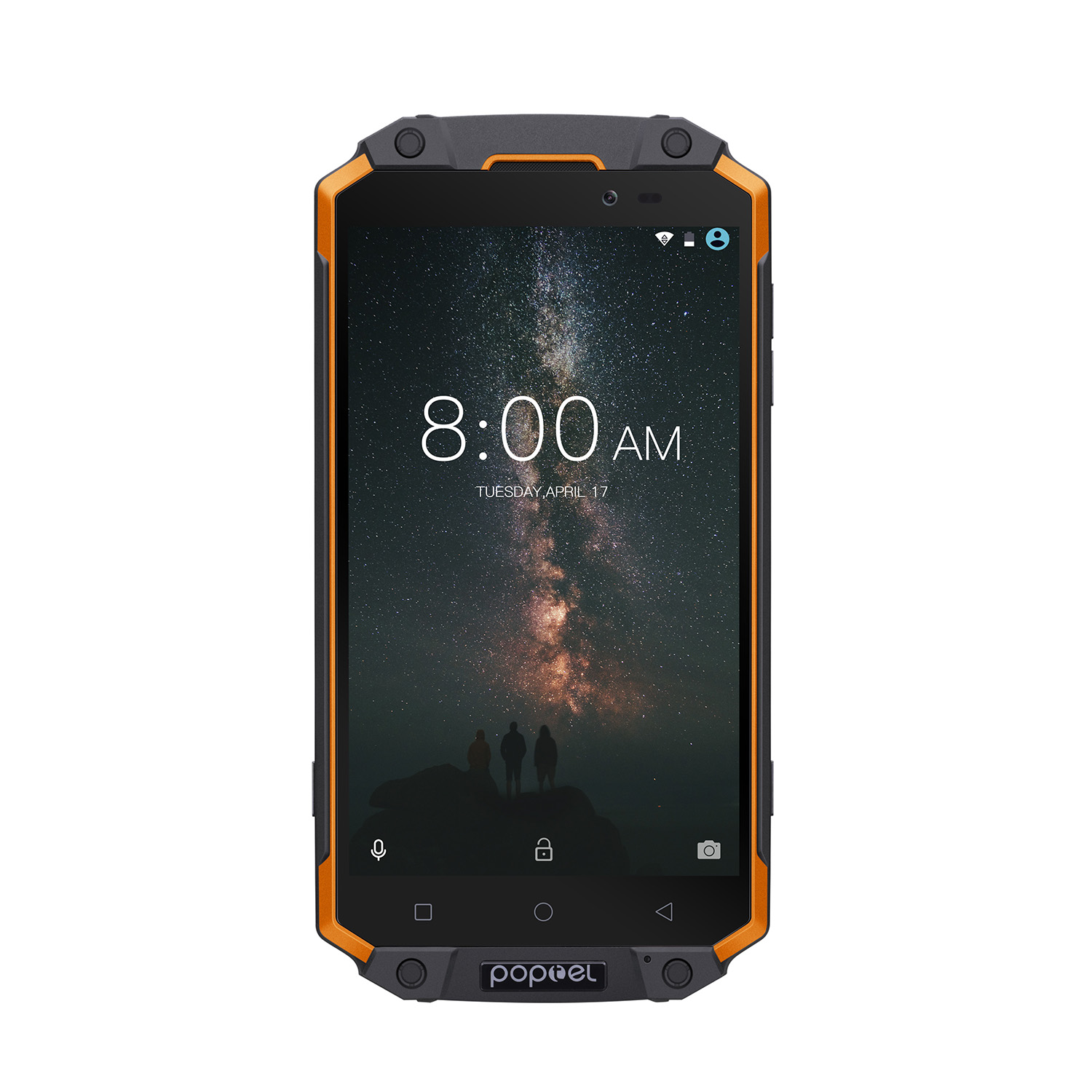 Wholesale POPTEL P9000 MAX Android Phone - Android 7.0-4GB RAM, 5.5-Inch FHD, IP68, Dual-IMEI