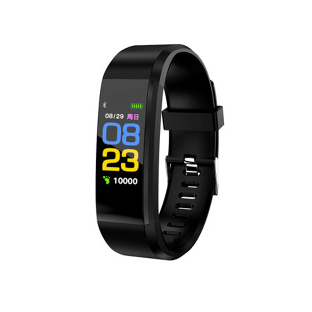 Wholesale Pro5 Bluetooth Fitness Tracker - Heart Rate, Pedometer, Calorie Counter, Notifications, Calls, 0.96 Inch Screen, IP67 (Black)