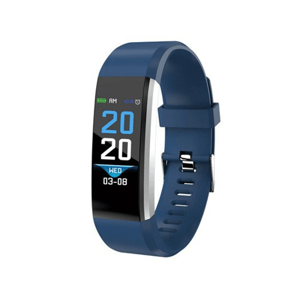 Wholesale Pro5 Bluetooth Fitness Tracker - Heart Rate, Pedometer, Calorie Counter, Notifications, Calls, 0.96 Inch Screen, IP67 (Blue)