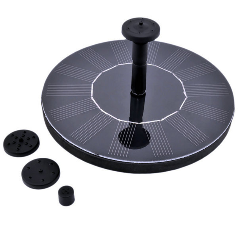 Wholesale Solar Fountain Pump, Free Standing 1.4W Bird Bath Fountain Pump for Garden and Patio, Solar Panel Kit Water Pump