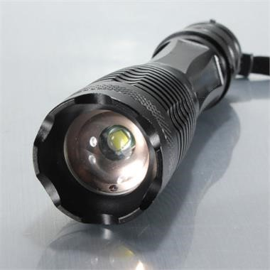 Wholesale UltraFire E06 CREE XML T6 1000Lm Zoomable LED Flashlight Set - 5 Modes, 1 x Charger