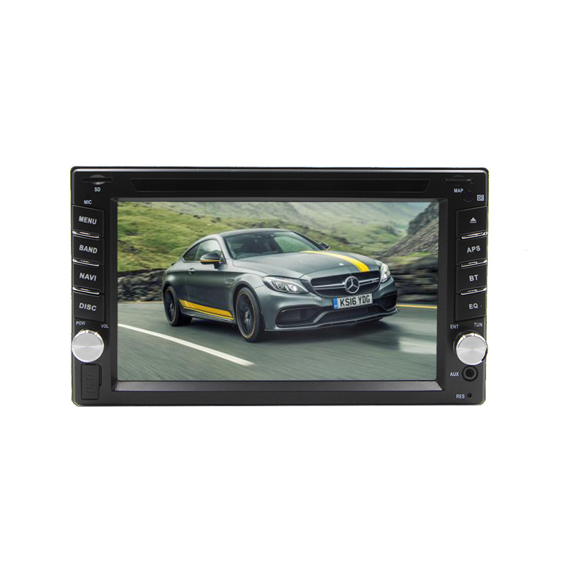 Wholesale Universal Car DVD Player - 6.2 Inch Screen, 2 Din, Bluetooth, GPS, AM/FM Radio, USB, SD Card Slot, Rear Parking Camera