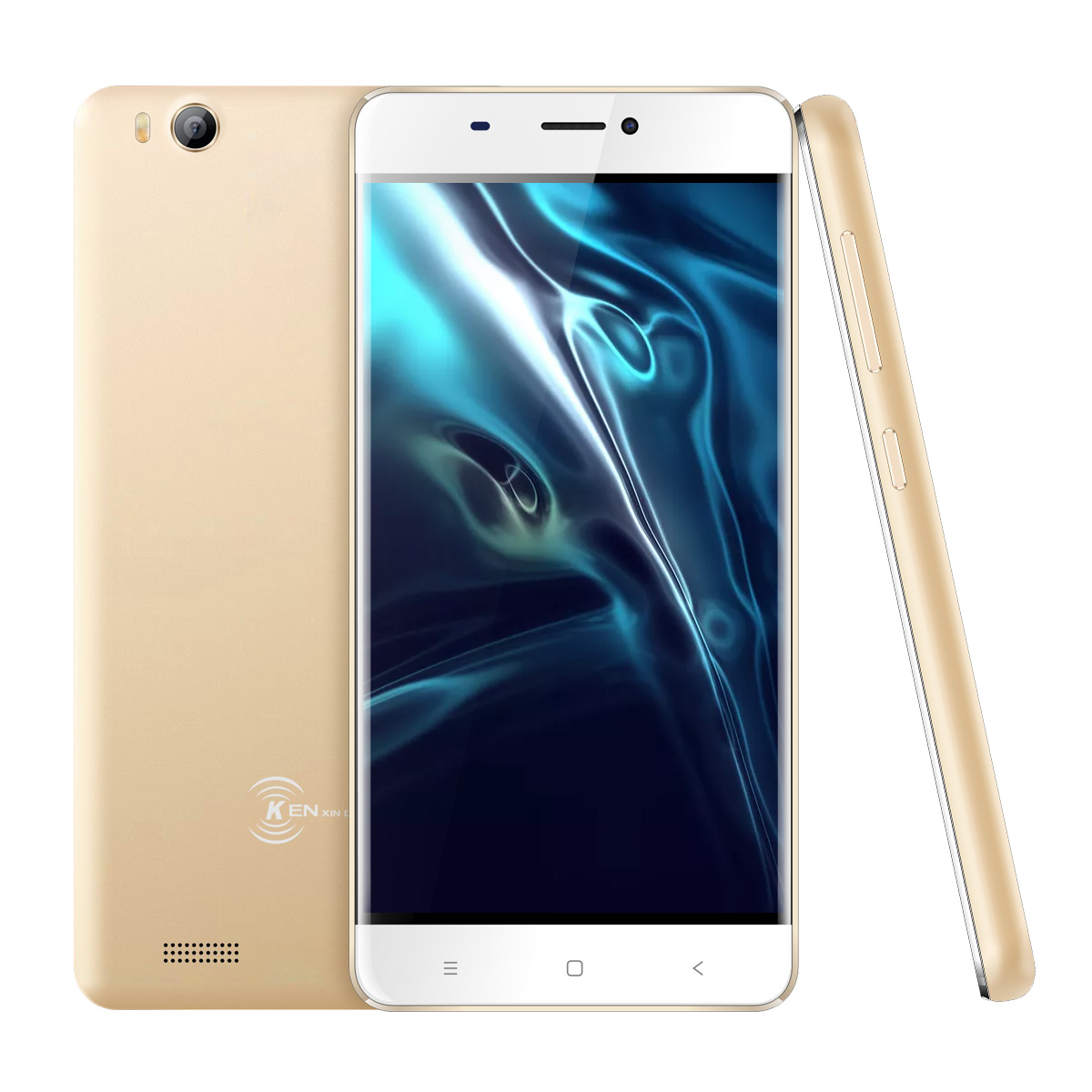 V5 3G Smartphone - Android 7.0 OS, Quad Core CPU 4.0-Inch Display, 1500mAh Battery, Front & Rear Camera (Gold)
