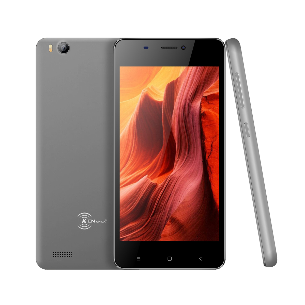 Wholesale V6 3G Smartphone - Android 6.0 OS, Quad Core CPU4.5-Inch Display, 1700mAh Battery, Front & Rear Camera (Gray)