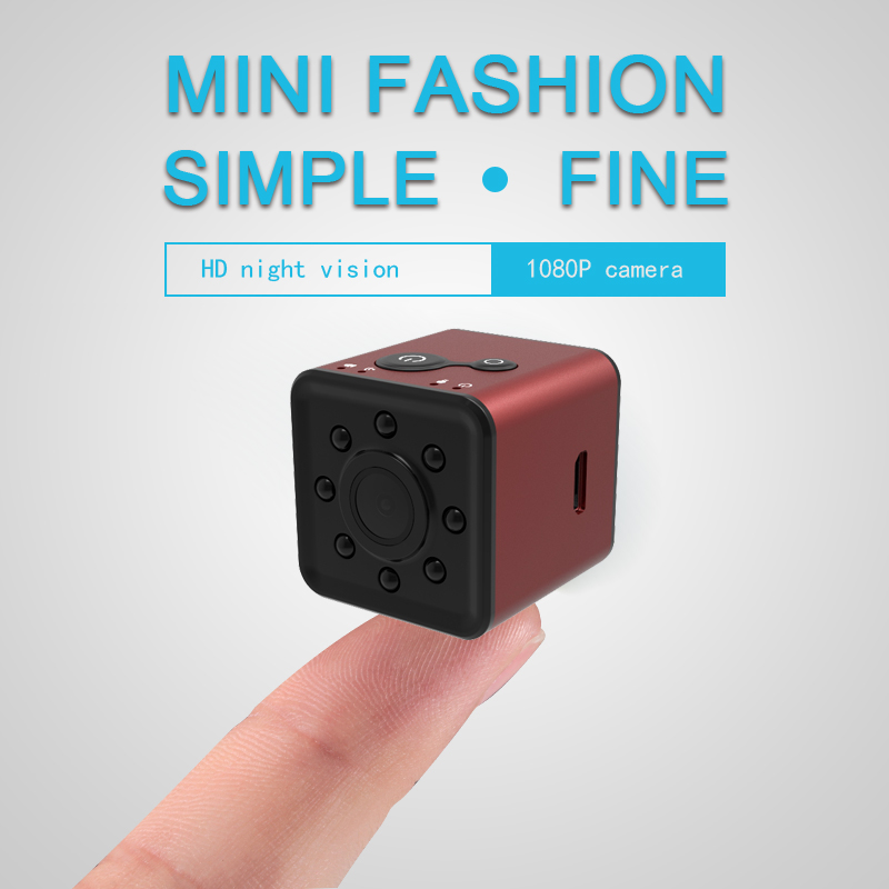 Wholesale Wifi Mini Sports Action Camera- FHD Resolutions, Loop-Cycle Recording, Motion Detection, Night Vision, Red